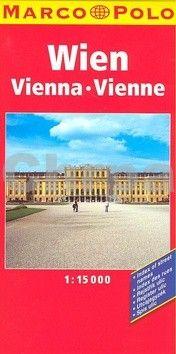 Marco Polo Wien Vienna Vienne 1:15 000 cena od 169 Kč