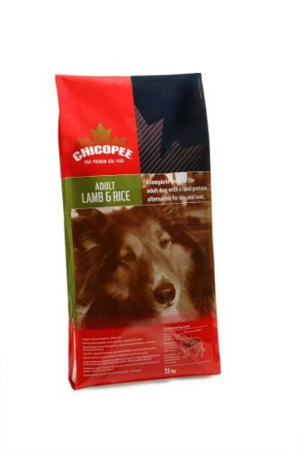 CHICOPEE Adult Lamb&Rice 15 kg, dospělý pes
