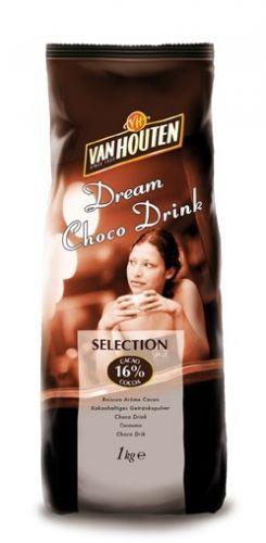 Van Houten Horká čokoláda Selection 1kg cena od 185 Kč