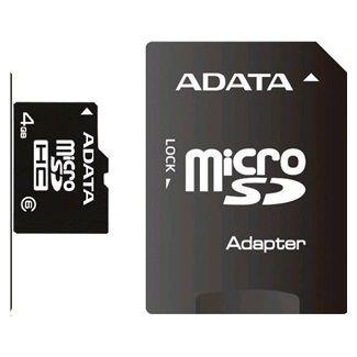 A-DATA Micro Secure Digital 4GB SDHC