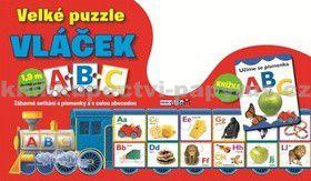 Velké puzzle vláček ABC cena od 0 Kč