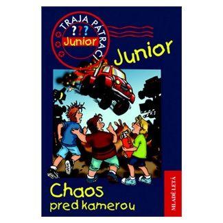 Ulf Blanck: Chaos pred kamerou - Traja pátrači Junior 2 cena od 95 Kč