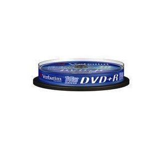 Disk DVD+R VERBATIM 4,7GB, 16x, 10-cake