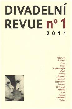 Divadelní ústav Divadelní revue 2011/1 cena od 84 Kč