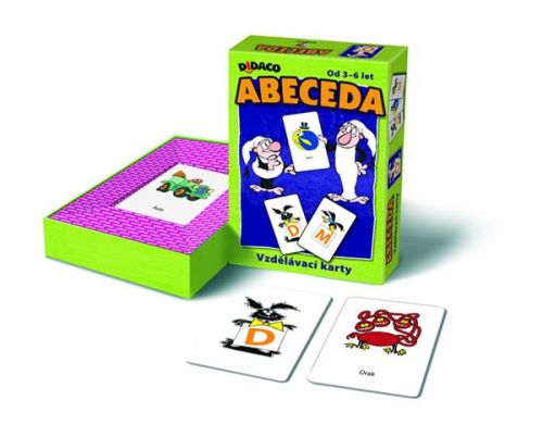 Vzdělávací karty - Abeceda - Křemílek a Vochomůrka cena od 108 Kč