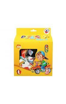 Efko Puzzle tvarové SHAPE II. BABY - Chlapeček 25 dílk cena od 76 Kč