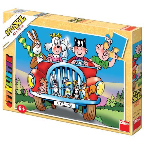 Dino Puzzle Čtyřlístek 100XL cena od 166 Kč