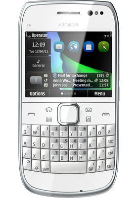 Nokia E6  cena od 3950 Kč
