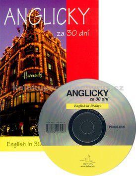 Pankaj Joshi, Pavlína Šamalíková: Anglicky za 30 dní + CD cena od 214 Kč