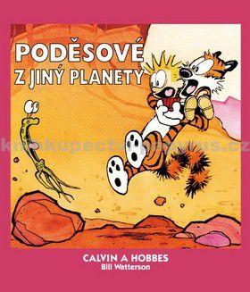Bill Watterson: Calvin a Hobbes 4 - Poděsové z jiný planety cena od 117 Kč
