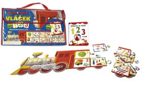 REBO Productions Velké puzzle vláček 1 2 3 cena od 141 Kč