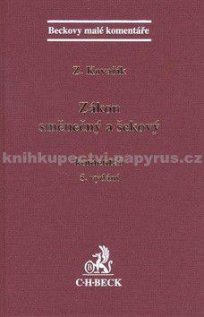 Zdeněk Kovařík: Zákon směnečný a šekový Komentář 5. vydání cena od 574 Kč
