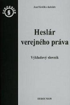 Jozef Králik: Heslár verejného práva cena od 407 Kč