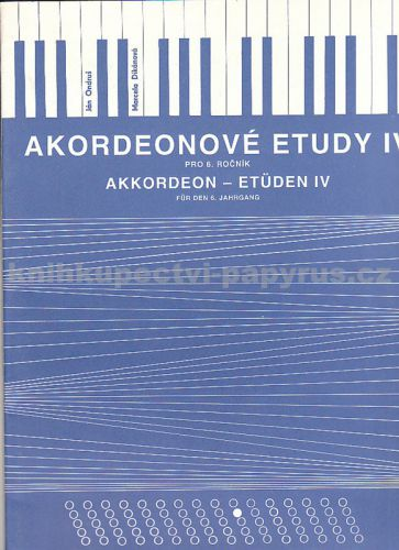 Akordeonové etudy IV. cena od 109 Kč