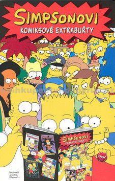 Matt Groening: Simpsonovi: Komiksové extrabuřty cena od 239 Kč