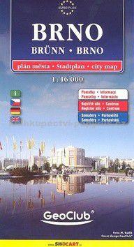 SHOCART Brno plán 1:16 000 cena od 77 Kč