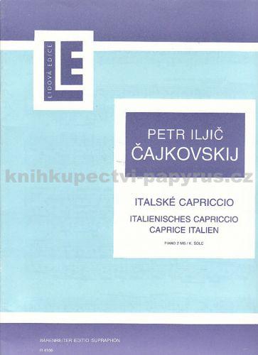 Čajkovskij Petr Iljič: Italské capriccio cena od 68 Kč