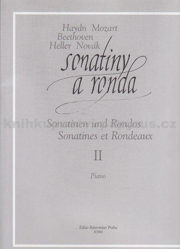 Clementi-Dusík: Sonatiny a ronda 2 cena od 242 Kč