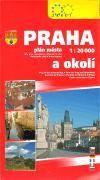 Žaket Praha a okolí - 1:20 000 cena od 68 Kč