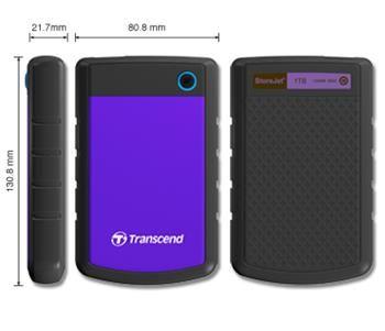 """TRANSCEND StoreJet 2.5"""" 1TB"""