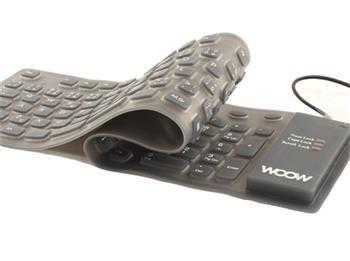 Redstar Woow Silikonová klávesnice - FLEX, USB, CZ layout -