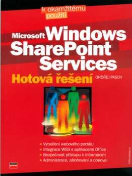 XXL obrazek Ondřej Pasch: Microsoft Windows SharePoint Services