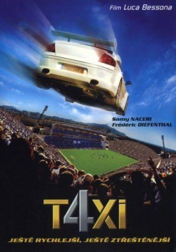 Hollywood C.E. Taxi 4 DVD cena od 49 Kč