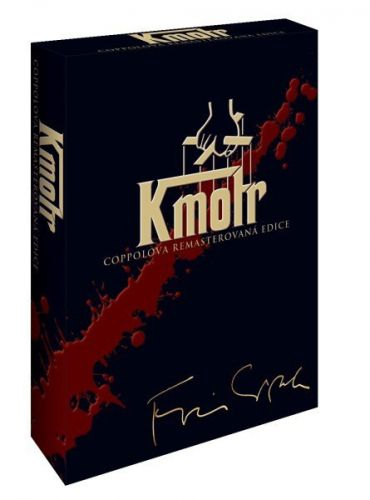 Magic Box Kmotr kolekce - Coppolova remasterovaná edice DVD