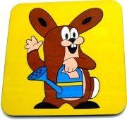 DoDo Dřevěné puzzle Zajíc cena od 225 Kč