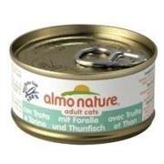 Almo Nature Cats konz. pstruh+tuňák 70g