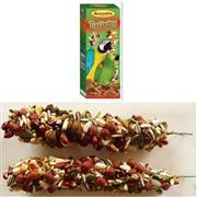 AVICENTRA Tyčinky pro velké papoušky - s ořechy a medem 2 ks