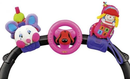 K´s Kids 3 veselé hračky na přichycení suchým zipem pastelové barvy cena od 748 Kč