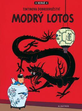 Hergé: Tintin 5 - Modrý lotos cena od 0 Kč