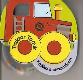 Clough Julie: Traktor Tomík - Knížka s chrastítkem cena od 86 Kč