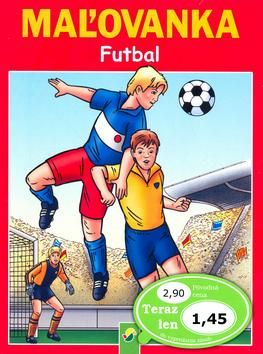 Maľovanka Futbal cena od 29 Kč