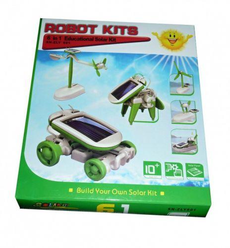 Pafaas Naučná robotická solární stavebnice 6v1