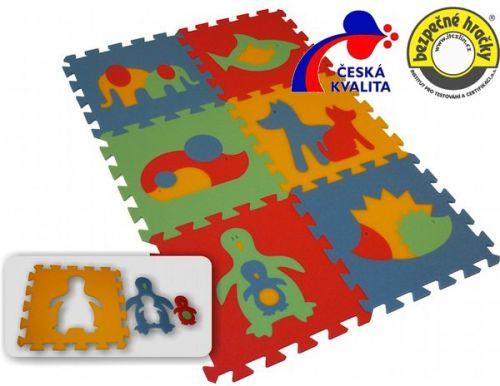 Malý génius Pěnový koberec MAXI 6 zvířata 2 cena od 220 Kč