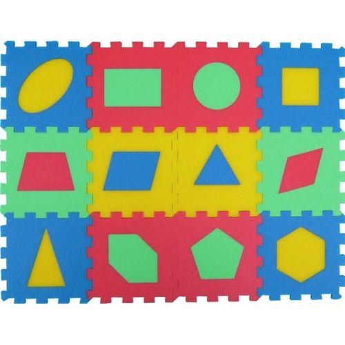 Malý génius Geometrický koberec 12 cena od 137 Kč