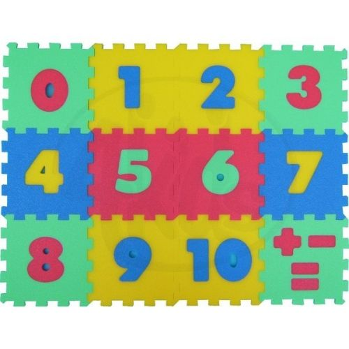Malý génius Koberec 12 Čísla cena od 133 Kč