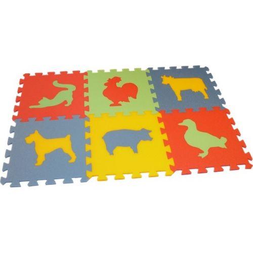 Malý génius Pěnový koberec MAXI 6 zvířata 3 (domací) cena od 220 Kč