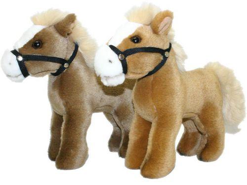 Rappa Plyšový kůň stojící 23 cm ,2 barvy