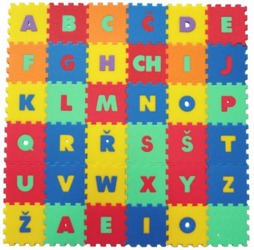 Malý génius Koberec 36 Písmena