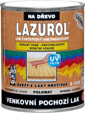 BAL-LAZUROL LAZUROL LAK VENKOVNÍ POCHOZÍ S1020