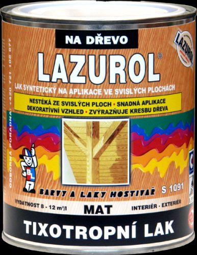 BAL-LAZUROL LAZUROL LAK TIXOTROPNÍ S1091 bezbarvý matný 0,75l