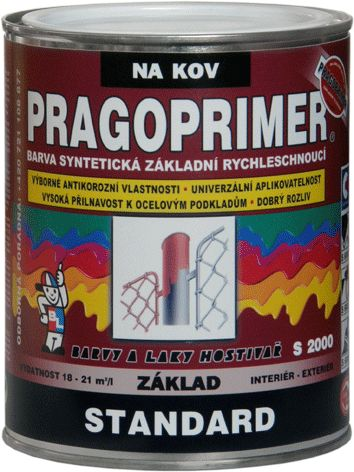 BAL-HOSTIVAŘ PRAGOPRIMER STANDARD S2000 šedá 0110 0,6l