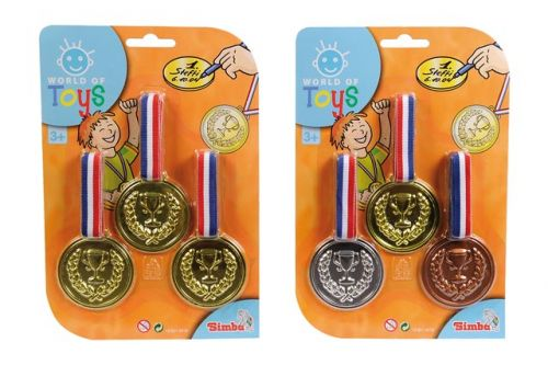 Simba Tři medaile, 2 druhy cena od 43 Kč