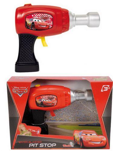 Simba Malá vodní pistole Cars, 15cm cena od 0 Kč