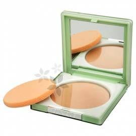 CLINIQUE Kompaktní pudr pro dlouhotrvající matný vzhled 7,6 g - odstín 02 Stay Neutral