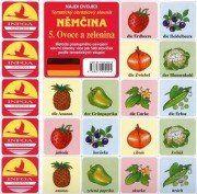 Antonín Šplíchal: Najdi dvojici Němčina - 5. Ovoce a zelenina cena od 25 Kč