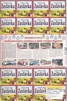 JUMPee Pexeso Československé autobusy 1
